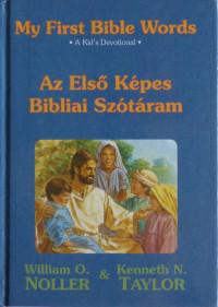 Az elsó képes bibliai szótáram -My First Bible Words   (HU- ENG)
