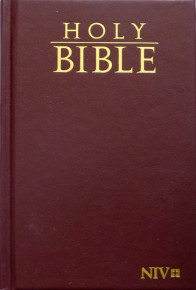 Holy Biblie NIV hard cover