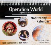 Modlitebný kalendár – operácia svet