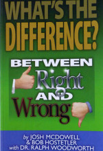 What is the difference between right and wrong